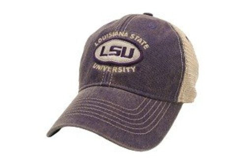 LSU Tigers Hat Adjustable Trucker Style Louisiana State University