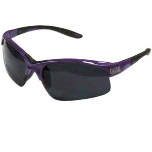 LSU Tigers Blade Sunglasses, Adult, Purple