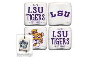 LSU Tigers Coasters Set of 4