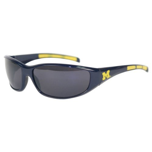 Michigan Wolverines 3 Dot School Colors Sunglasses