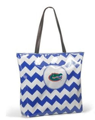 Florida Gators Chevron Tote Bag