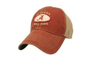Alabama Crimson Tide Hat Adjustable Trucker Style