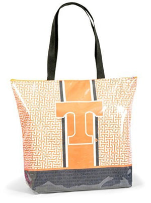 Tennessee Volunteers Greek Key Design Tote