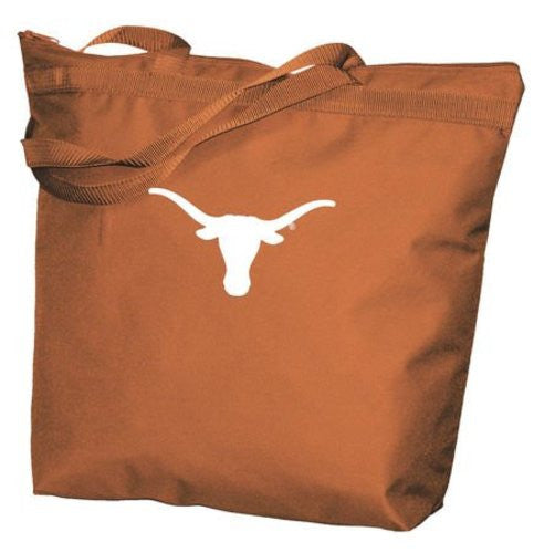 Texas Longhorns - Zippered Tote - 2 Styles