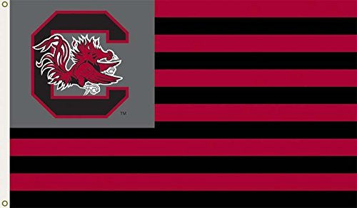 South Carolina Gamecocks USC NCAA 3 Ft. X 5 Ft. Flag W/Grommets