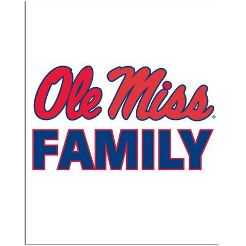 Picture of Ole Miss Rebels Team Pride Auto Decal