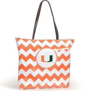Miami Hurricanes - Chevron Shopper Tote