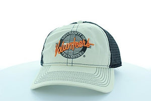 Tennessee Volunteers Stone/Gray Circle Hat with Mesh Trucker Style