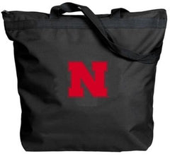 Nebraska Cornhuskers Zippered Tote