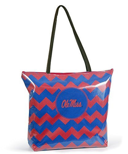 Ole Miss Rebels NCAA Chevron Shopper Tote