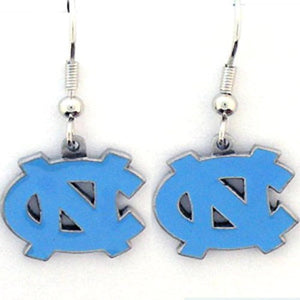 North Carolina Tar Heels Dangle Earrings