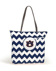 Auburn Tigers Chevron Tote Bag