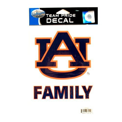 Picture of Auburn Tigers Family Team Pride Decal