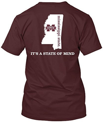 Mississippi State Bulldogs State of Mind Tshirt
