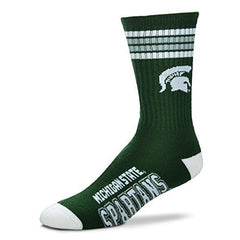 Michigan State Spartans Crew Socks
