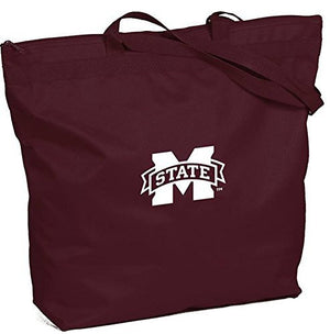 Mississippi State Bulldogs - NCAA Zippered Tote Bag
