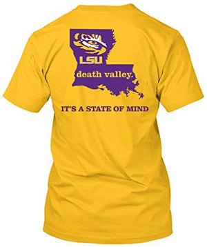 LSU Tigers State of Mind Home Tshirt