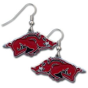 Arkansas Razorbacks Dangle Earrings