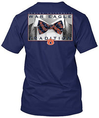 Auburn Tigers Bow Tie Tradition T-shirt