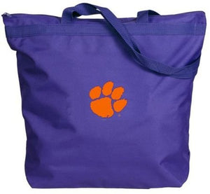 Clemson Tigers - NCAA Zippered Tote