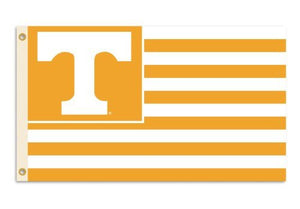 Tennessee Volunteers 3-by-5 Foot Flag T with Stripes with Grommets