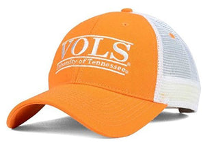 Tennessee Volunteers Orange Bar Hat with Mesh Trucker Style