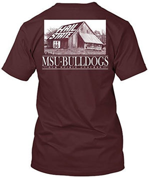 Mississippi State Bulldogs Barn Hail State T-shirt