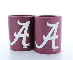 Alabama Crimson Tide Can Koozies Set of 2