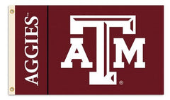 Texas A&M Aggies 3-by-5 Foot Flag with Grommets