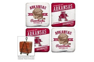 Arkansas Razorbacks Coasters Set of 4