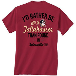 Florida State Seminoles Lost in Tallahassee T-shirt