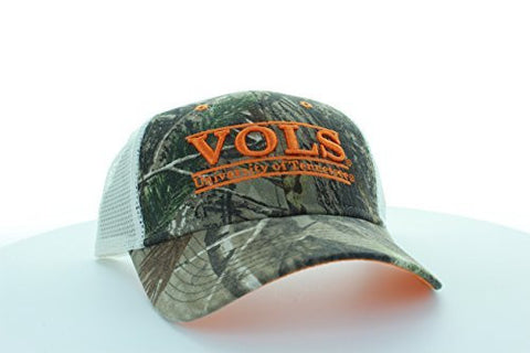 Picture of Tennessee Volunteers Camo Bar Hat with Mesh Trucker Style