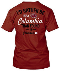 South Carolina Gamecocks Lost in Columbia Tshirt