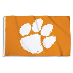 Clemson Tigers 3 Ft. X 5 Ft. Flag W/Grommets