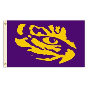 LSU Tigers 3 x 5-Feet Flag with Grommets
