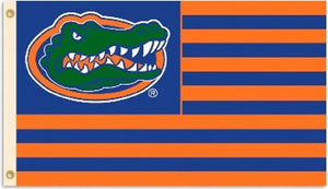 Florida Gators Stipes Flag 3 x 5-Feet with Grommets