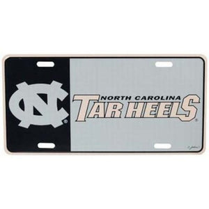 North Carolina Tar Heels Logo License Plate