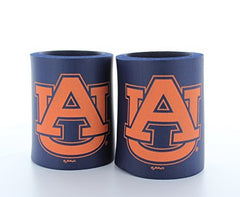 Auburn Tigers Can Koozies Set of 2
