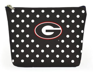 Georgia Bulldogs - NCAA Polka Dot Pouch