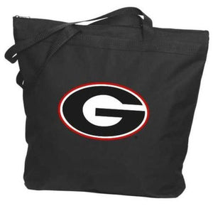 Georgia Bulldogs - NCAA Zippered Tote