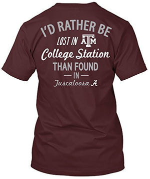 Texas A&M Aggies Lost in College Station T-shirt