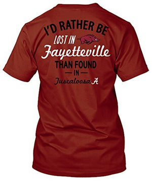Arkansas Razorbacks Lost in Fayetteville T-shirt
