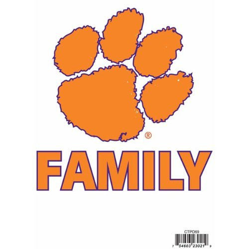 Clemson Tigers Team Pride Auto Decal