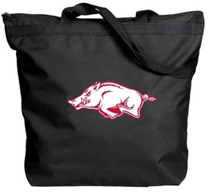 Arkansas Razorbacks - NCAA Zippered Tote