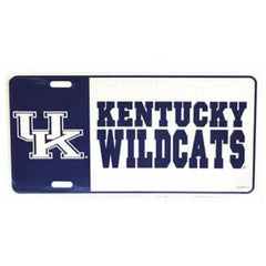 Kentucky Wildcats Logo License Plate