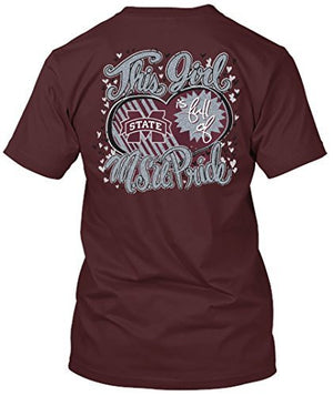 Mississippi State Bulldogs Pride Tshirt