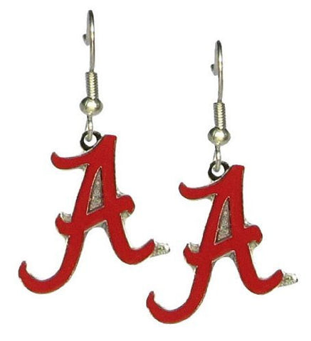Picture of Alabama Crimson Tide A Logo - NCAA Team Logo Dangler Earrings