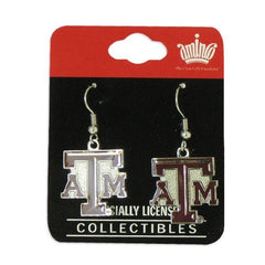 Texas A&M Aggies Logo Dangle Earrings