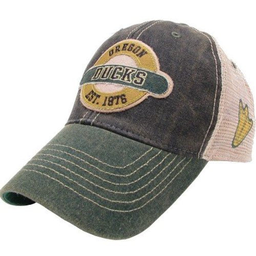 Oregon Ducks Hat Adjustable Trucker Style with Logo on Side