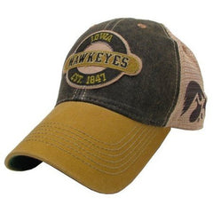Iowa Hawkeyes Hat Adjustable Trucker Style with Logo on Side